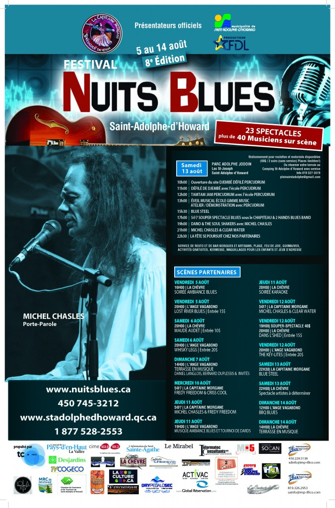 Affiche nuit blues 2016